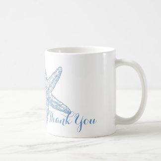 Starfish Thank You Mug