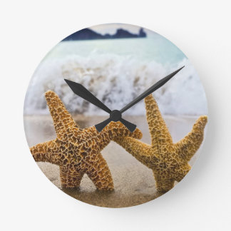 Starfish Together Forever Wallclock