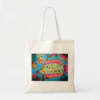 """StarFish"" Tote Budget Tote Bag"