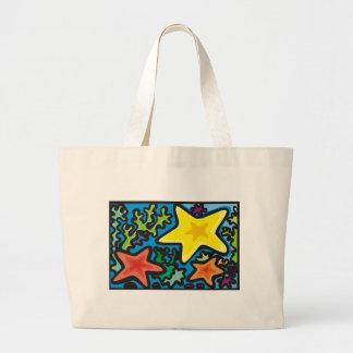 Starfish Trio Jumbo Tote Bag
