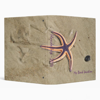"Starfish ""Walking"" 1"" Beach Binder"