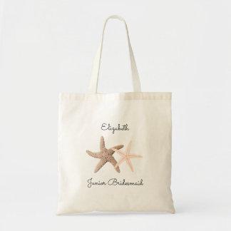 Starfish Wedding Junior Bridesmaid Tote Bag