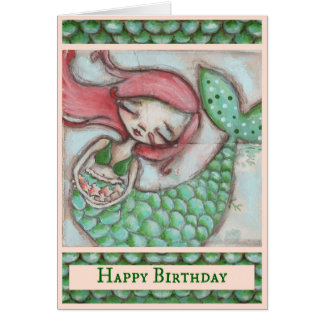 Starfish Wishes - Birthday Card