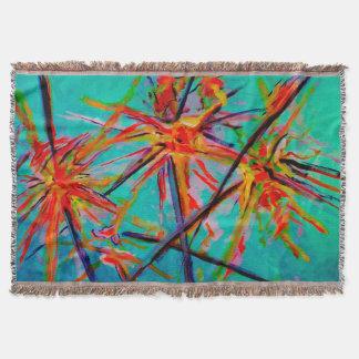 Starflowerz Throw Blanket