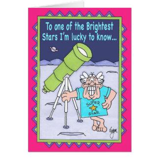 STARGAZER Birthday Card