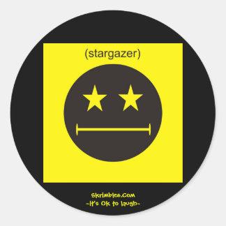 Stargazer Classic Round Sticker