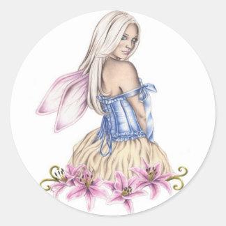 Stargazer Fairy Sticker