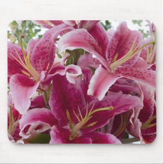 Stargazer Lilies Mouse Pad