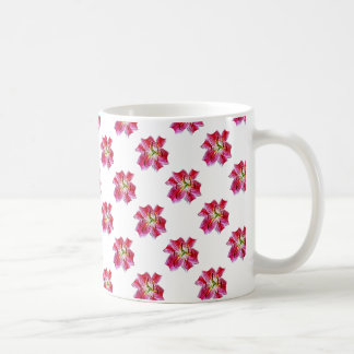 Stargazer Lily Closeup Coffee Mug
