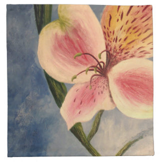 Stargazer Lily - Cloth Napkins