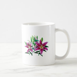 Stargazer Lily Family Coffee Mug