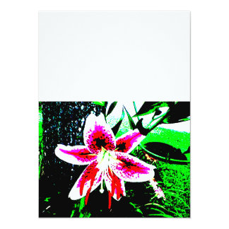 Stargazer Lily Invitations