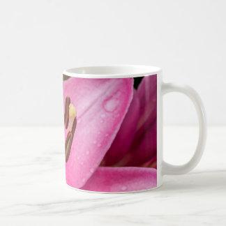 Stargazer Oriental Lily Coffee Mug