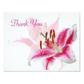 "Stargazer Silhouette Thank You Card 4.25"" X 5.5"" Invitation Card"