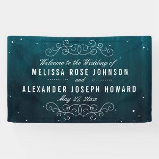 Stargazer Wedding Banner
