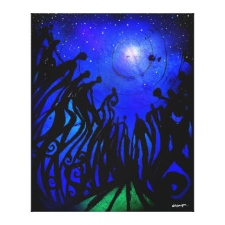 StarGazers (Wrapped Canvas) Canvas Print
