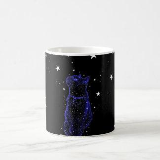 Stargazing Cat Mug
