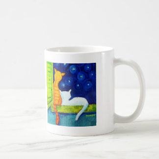 Stargazing Cats Coffee Mug