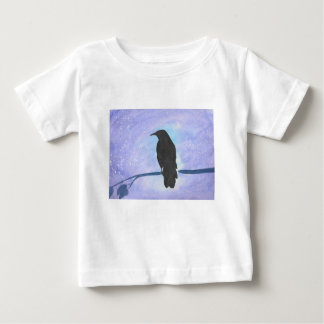 Stargazing Crow Baby T-Shirt