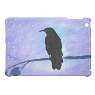 Stargazing Crow Cover For The iPad Mini
