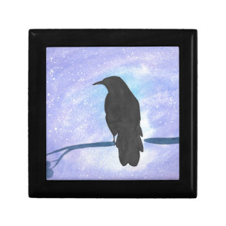 Stargazing Crow Gift Box