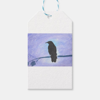 Stargazing Crow Pack Of Gift Tags
