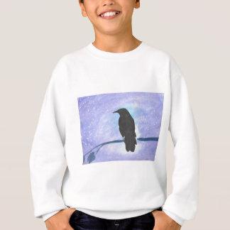 Stargazing Crow Sweatshirt