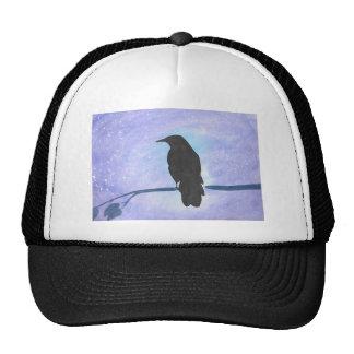 Stargazing Crow Trucker Hat