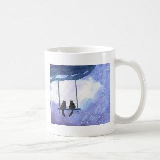 Stargazing Kitties Coffee Mug