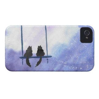Stargazing Kitties iPhone 4 Covers