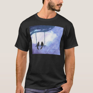 Stargazing Kitties T-Shirt