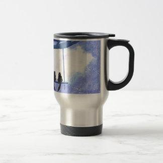 Stargazing Kitties Travel Mug