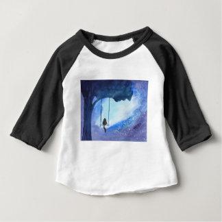 Stargazing Kitty Baby T-Shirt