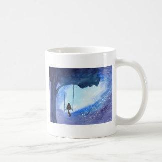 Stargazing Kitty Coffee Mug