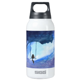 Stargazing Kitty Water Bottle