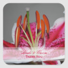 Stargazing Lily Wedding Stickers