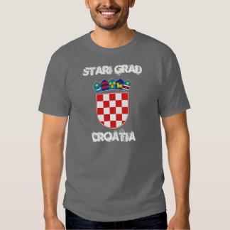 Stari Grad, Croatia with coat of arms Tees