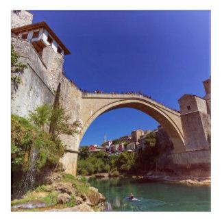 Stari Most, Mostar, Bosnia and Herzegovina Acrylic Wall Art