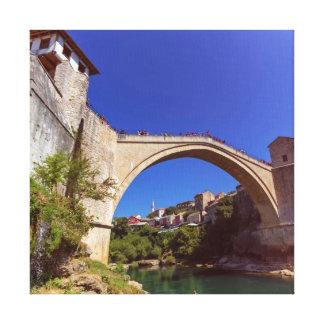 Stari Most, Mostar, Bosnia and Herzegovina Canvas Print