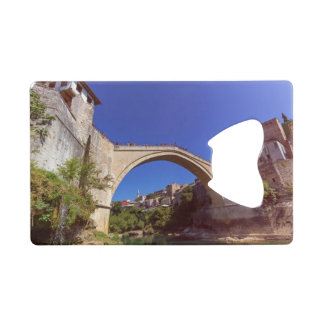 Stari Most, Mostar, Bosnia and Herzegovina Credit Card Bottle Opener
