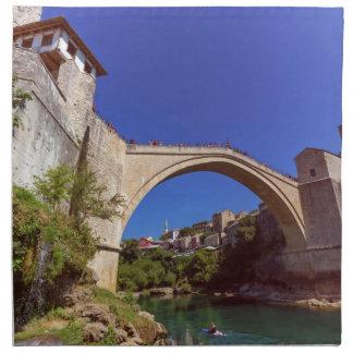 Stari Most, Mostar, Bosnia and Herzegovina Napkin