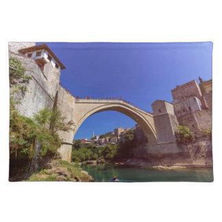 Stari Most, Mostar, Bosnia and Herzegovina Place Mat