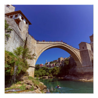 Stari Most, Mostar, Bosnia and Herzegovina Poster