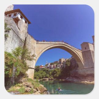 Stari Most, Mostar, Bosnia and Herzegovina Square Sticker