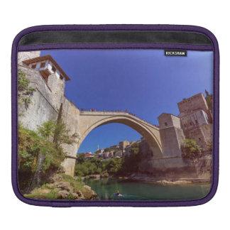 Stari Most, old bridge, Mostar, Bosnia and Herzego iPad Sleeve
