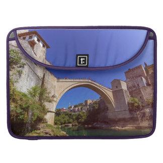 Stari Most, old bridge, Mostar, Bosnia and Herzego Sleeve For MacBooks