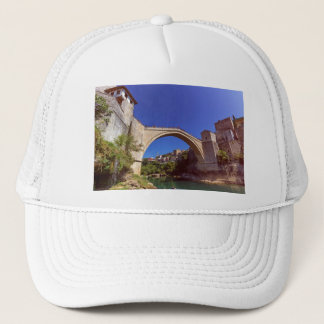 Stari Most, old bridge, Mostar, Bosnia and Herzego Trucker Hat