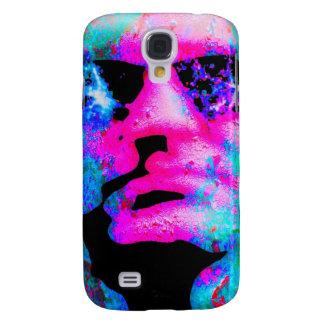 staring coloured head. HTC vivid case