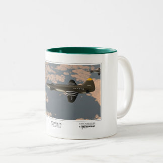 Starjets: The Lockheed L-133 Two-Tone Coffee Mug