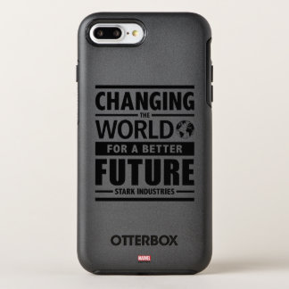 Stark Industries Changing The World OtterBox Symmetry iPhone 7 Plus Case